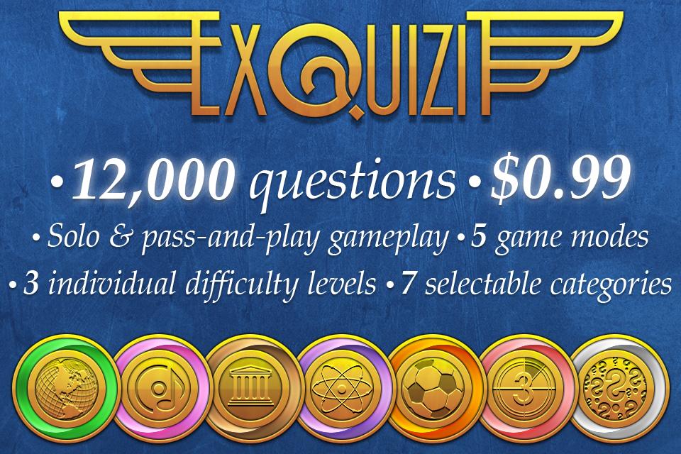 Screenshot ExQuizit – The World's Biggest Quiz
